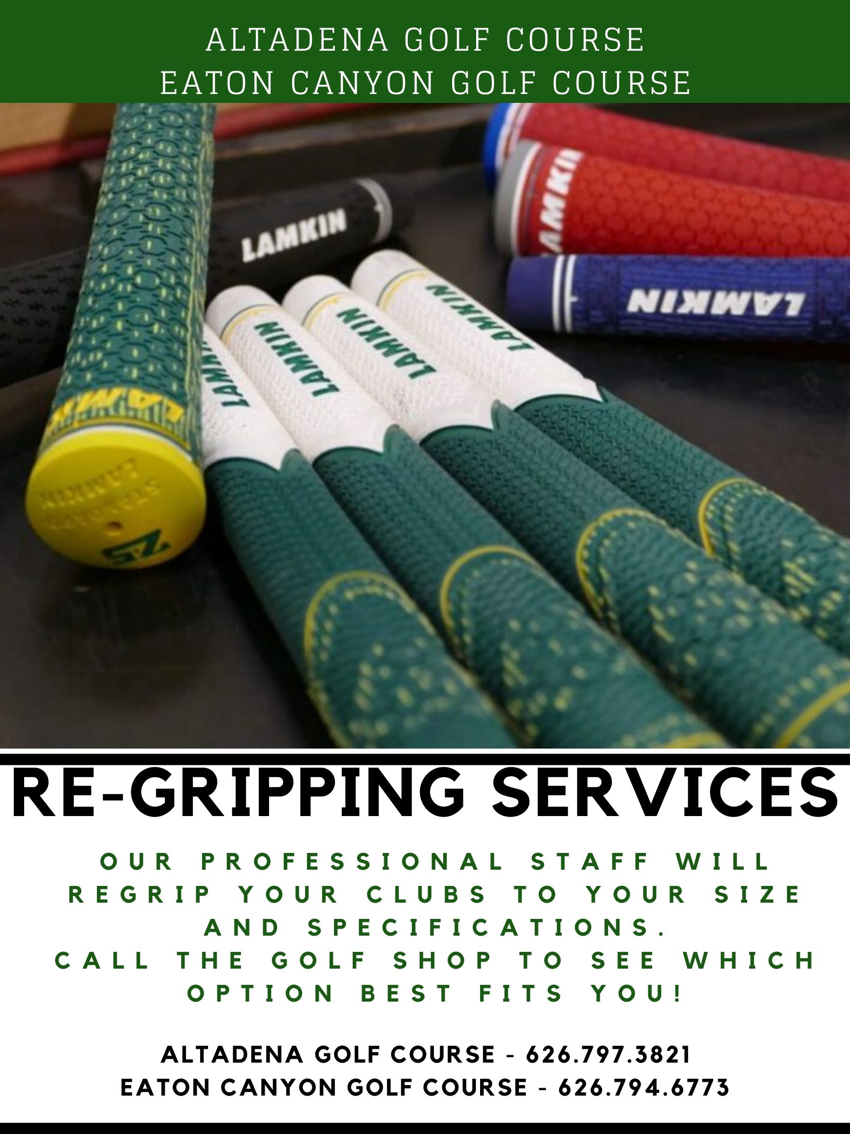 Regripping Services